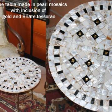 Bisazza coffee table