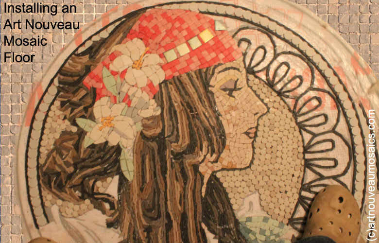 art nouveau mosaics gallery. Black Bedroom Furniture Sets. Home Design Ideas