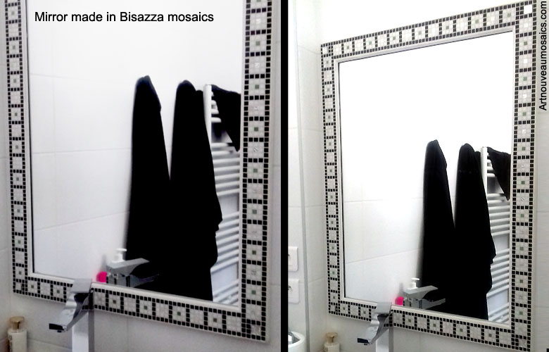 Bisazza mirror for bathroom